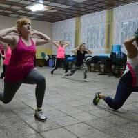 Fitness w świetlicy 09.11.2015
